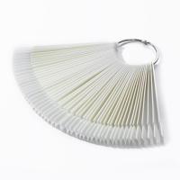Палитра-веер на кольце ,матовая, 50 шт