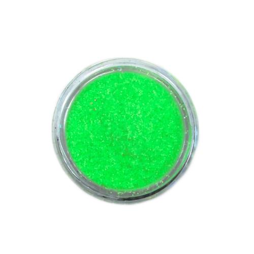 Меланж-сахарок для дизайна ногтей TNL №22 неон салатовый