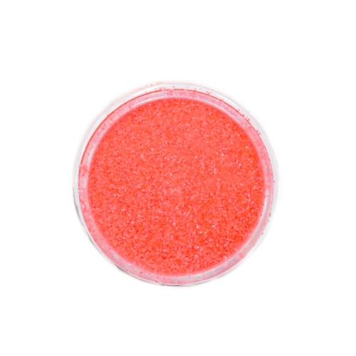 Меланж-сахарок для дизайна ногтей TNL №23 неон коралловый