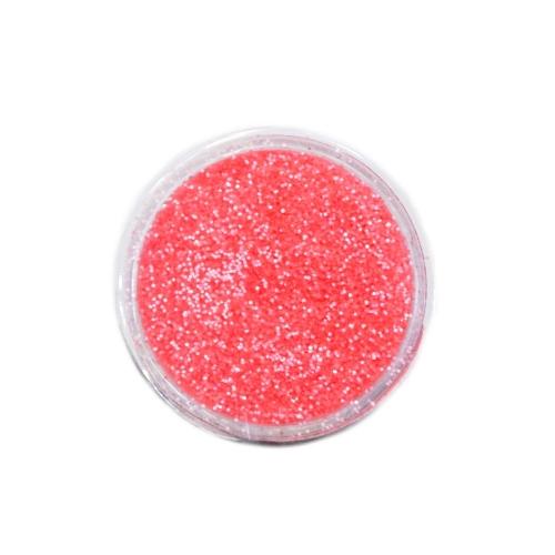 Меланж-сахарок для дизайна ногтей TNL №24 неон кислотно-розовый
