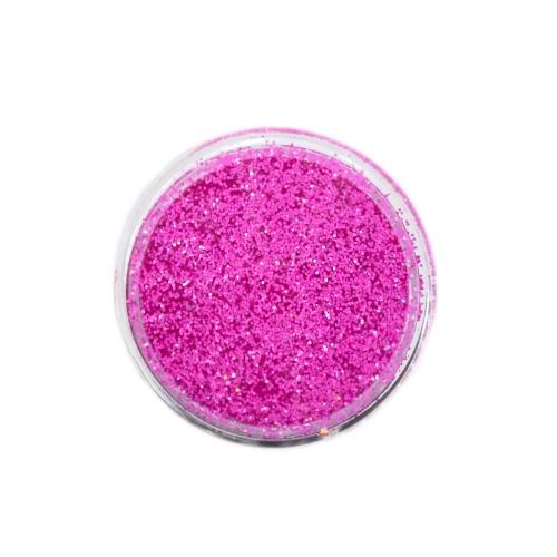 Меланж-сахарок для дизайна ногтей TNL №26 неон темно-розовый