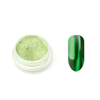 Металлическая втирка TNL (зеленая)