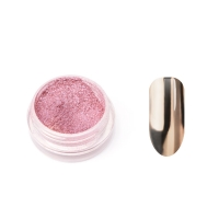 Металлическая втирка TNL (розовая)