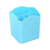 Подставка для кистей и пилок маленькая Париж, голубая
