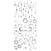 Nika Nagel, Набор наклеек для дизайна ногтей Фреска ювелирная №14