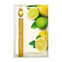 BIOAQUA Тканевая маска для лица с экстрактом лимона (30 г.)