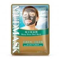 BIOAQUA, Грязевая минеральная маска для лица с бобами Мунг (20 г.)