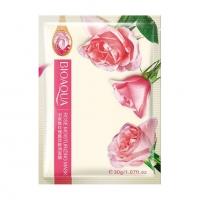 BIOAQUA, Тканевая маска для лица с экстрактом розы (30 г.)