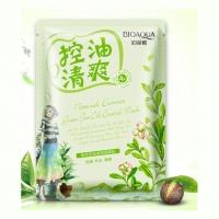 BIOAQUA, Маска освежающая с маслом чайного дерева NATURAL EXTRACT (30 г.)
