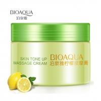 BIOAQUA, Массажный крем для лица с лимоном (120 гр.)