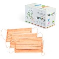 Sense, Маска защитная, оранжевая, 100 шт.