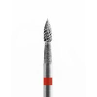 Кристалл, Твердосплавная фреза Пламя, мелкая, 21015