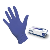 Перчатки (M) NitriMAX фиолетовые, 50 пар/уп.