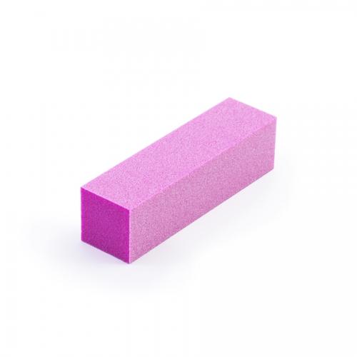 Бафик полировочный четырехсторонний розовый