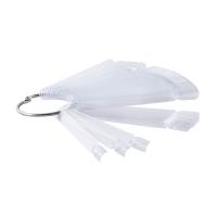 Палитра-веер на кольце, прозрачная, 50 шт.