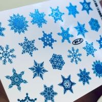 Наклейка слайдер-дизайн фольгированный by Anna Tkacheva NY47 FOIL