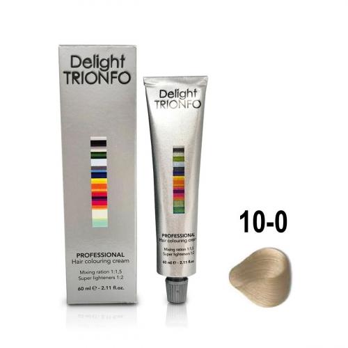 Constant Delight, Крем-краска DELIGHT TRIONFO для окрашивания волос 10-0 светлый блондин натуральный 60 мл