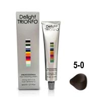 Constant Delight, Крем-краска DELIGHT TRIONFO для окрашивания волос 5-0 светло-коричневый натуральный 60 мл
