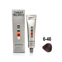 Constant Delight, Крем-краска DELIGHT TRIONFO для окрашивания волос 6-46 темно-русый бежево-шоколадный 60 мл