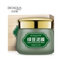BIOAQUA, Противовоспалительная очищающая маска с вулканической грязью и зелеными бобами (120 г.)