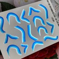 Наклейка слайдер-дизайн фольгированный by Anna Tkacheva NY27 FOIL