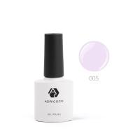 Цветной гель-лак ADRICOCO №005 светло-лиловый (8 мл.)