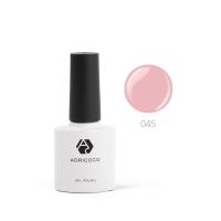Цветной гель-лак ADRICOCO №045 дымчато-розовый (8 мл.)