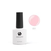 Цветной гель-лак ADRICOCO №051 розовое парфе (8 мл.)