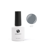 ADRICOCO, Цветной гель-лак  №077 кварцевый (8 мл.)