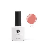 Цветной гель-лак ADRICOCO №160 карамельный крем (8 мл.)