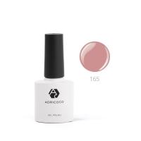 Цветной гель-лак ADRICOCO №165 розово-кремовый (8 мл.)