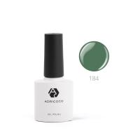 Цветной гель-лак ADRICOCO №184 лесной зеленый (8 мл.)