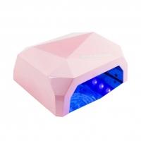 Гибридная лампа CCFL LED, розовая, 36 Ватт