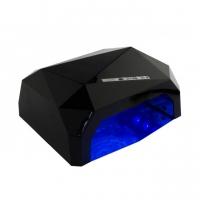 Гибридная лампа CCFL LED, чёрная, 36 Ватт
