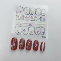 Кристалл Nails, Наклейка 5D стикер для дизайна ногтей SP 050