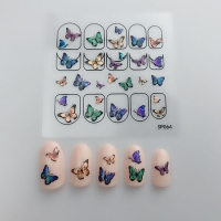 Кристалл Nails, Наклейка 5D стикер для дизайна ногтей SP 064
