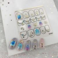 Кристалл Nails, Наклейка 5D стикер для дизайна ногтей SP 065