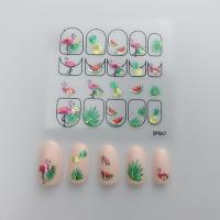 Кристалл Nails, Наклейка 5D стикер для дизайна ногтей SP 067