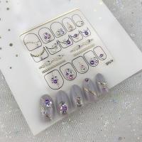 Кристалл Nails, Наклейка 5D стикер для дизайна ногтей SP 079