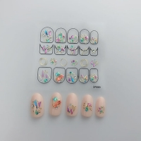 Кристалл Nails, Наклейка 5D стикер для дизайна ногтей SP 085