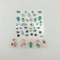 Кристалл Nails, Наклейка 5D стикер для дизайна ногтей SP 109