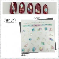Кристалл Nails, Наклейка 5D стикер для дизайна ногтей SP 124