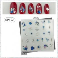 Кристалл Nails, Наклейка 5D стикер для дизайна ногтей SP 126