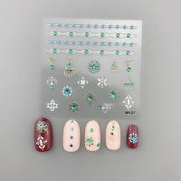 Кристалл Nails, Наклейка 5D стикер для дизайна ногтей SP 127