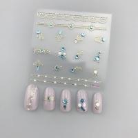 Кристалл Nails, Наклейка 5D стикер для дизайна ногтей SP 152