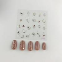 Кристалл Nails, Наклейка 5D стикер для дизайна ногтей SP 182