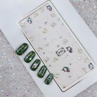 Кристалл Nails, Наклейка 5D стикер для дизайна ногтей SP 203