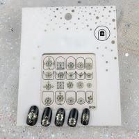 Кристалл Nails, Наклейка 5D стикер для дизайна ногтей SP 229