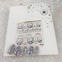 Кристалл Nails, Наклейка 5D стикер для дизайна ногтей SP 236
