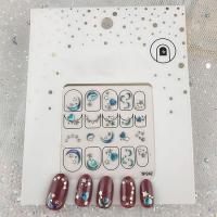 Кристалл Nails, Наклейка 5D стикер для дизайна ногтей SP 242